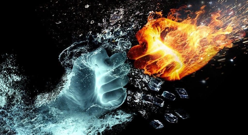 Voda/vatra